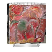 Flor Splendido Shower Curtain