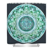 Home Blessing Shower Curtain