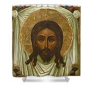 Jesus Christ Christian Art Shower Curtain