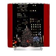 30 Rock, Christmas Eve, 2011 Shower Curtain