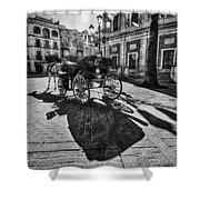Seville Sevilla Andalucia Spain Shower Curtain