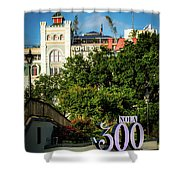 300 Years Of New Orleans Shower Curtain