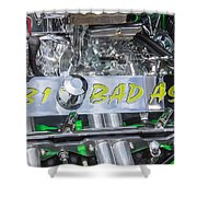 31 Ford Roadster Bad Ass Motor Shower Curtain