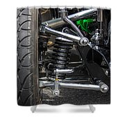 31 Ford Roadster Suspension Shower Curtain