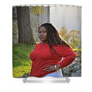 Golden Hour Senior  Shower Curtain
