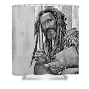 Roatan People Shower Curtain