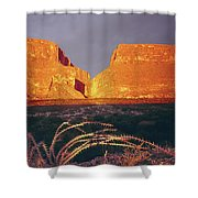 317828 Sunrise On Santa Elena Canyon  Shower Curtain