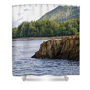 Alaska_00032 Shower Curtain