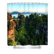 Landscape Paintings Shower Curtain