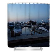 Racine Coastal Seascape - Michigan Lake In Wisconsin By Adam Asar Shower Curtain