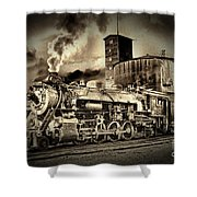 3254 In Old-time Look Shower Curtain