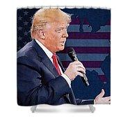 Donald Trump Shower Curtain