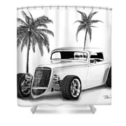 33 Ford Coupe Shower Curtain