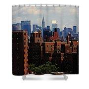 New York City Skyline 3 Shower Curtain
