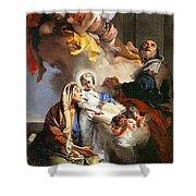 33613 Giovanni Battista Tiepolo Shower Curtain