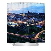 Edinburgh, Scotland Shower Curtain
