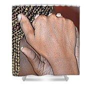 Braids/roatan People Shower Curtain