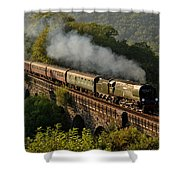 34067 Tangmere On Return. Shower Curtain