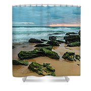 Dawn Seascape Shower Curtain