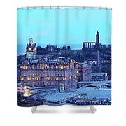 Edinburgh, Scotland Shower Curtain