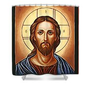 Jesus Christ Savior  Shower Curtain