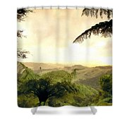 Picture Of Landscape Shower Curtain