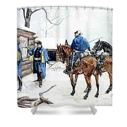 35424 Frederick Remington Shower Curtain