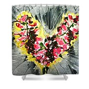 Divine Blooms Shower Curtain