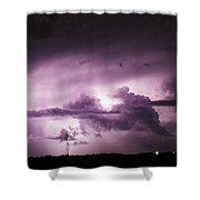 6th Storm Chase 2015 Shower Curtain