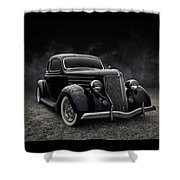36 Ford Five Window Shower Curtain