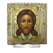 Jesus Christ Christian Art Shower Curtain