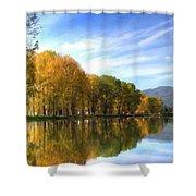 S Landscape Shower Curtain