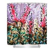 Divine Blooms Shower Curtain
