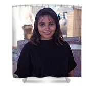 Cuidad Juarez Mexico Color From 1986-1995 Shower Curtain