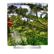 Landscape Show Shower Curtain