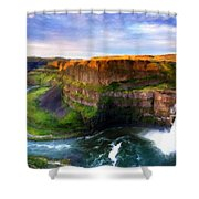 S Landscape Shower Curtain