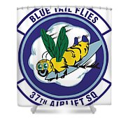37th Tactical Airlift Squadron Shower Curtain