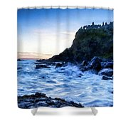 Landscape Show Shower Curtain