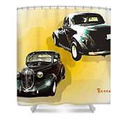 '38 Plymouth Shower Curtain