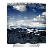 C L Landscape Shower Curtain