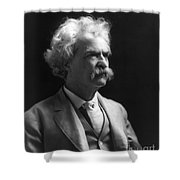 Samuel Langhorne Clemens Shower Curtain by Granger