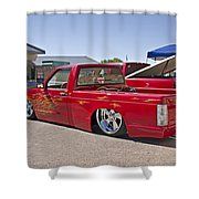 1982 Chevy S10_1a Shower Curtain
