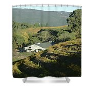 3b6348 Benzinger Family Winery Shower Curtain