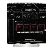 3d Camera  Shower Curtain