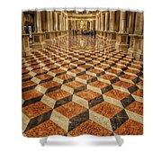 3d Floor Art Shower Curtain