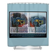 3 Dimensional Painting Shower Curtain