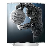 3d Printing Additive Robotic Hand Shower Curtain