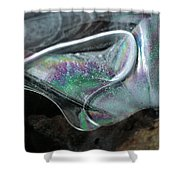 3.ice Prismatic 2, Slaley Quarry Shower Curtain