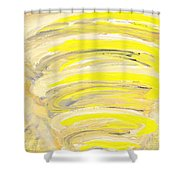 3rd Chakra / Solar Plexus Shower Curtain