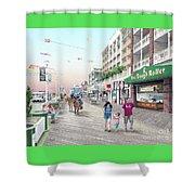 3rd Street Ocean City Md Shower Curtain